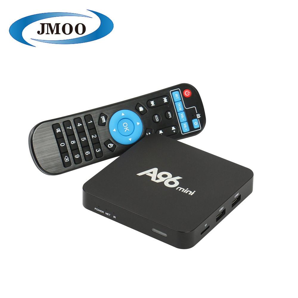 Black A96mini x96 A95X IP TV Stream 1GB ram 8GB Rom Wireless cheap Android 6.0 TV Box