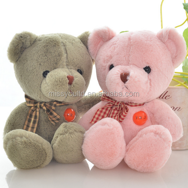 EN71 Custom Lovely Plush Cheap Bear Doll For Children Gift