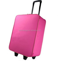 online shopping polyester hard case office luggage trolley bag