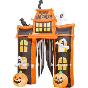 2011 fashion halloween inflatable arch