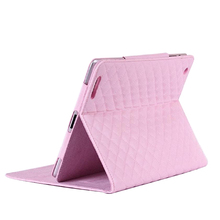 Alibaba China lambskin leather flip cover case for Ipad5,leather protective case cover for Ipad5