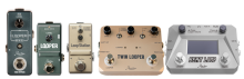 Rowin Looper/Loop series guitar effect pedals