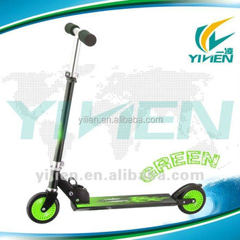 2 wheel children folding kick scooter
