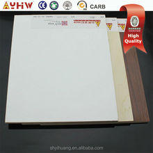 silver color single side laminated melamine particle board of 1220*2440mm