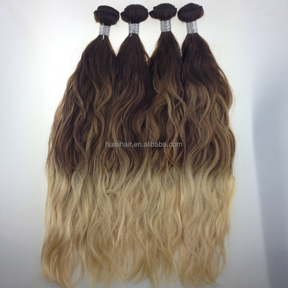 New arrival fascinating products factory direct supply top quality cost price gradient color pure human hair price list