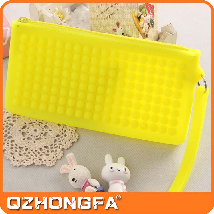 Customized Silicone Purse, Ladies Coin Purse