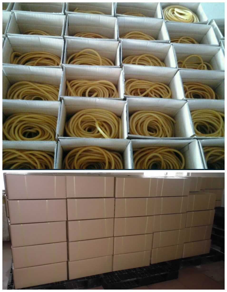 Latex Rubber Tube Elastic Rubber Tube OEM , Fishing Latex Tubing Latex Tube Factory