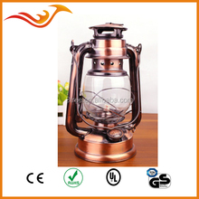 LED kerosene Kwang hwa hurricane lantern with dimmer and metal handle