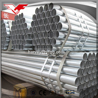 500g/m2 zn coating thin wall galvanized steel pipe