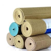 wholesale 6 mm personalized hemp jute yoga mat manufacturer China