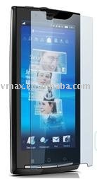 Grade A PET clear screen protective film for Sony Ericsson Xperia X10