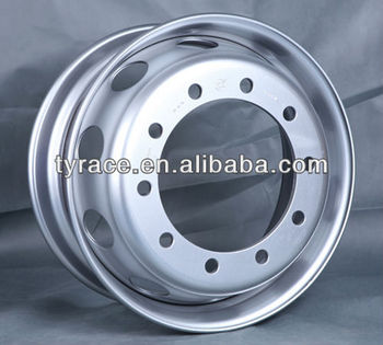 wheel 9.00*22.5 10 bolt holes with DOT TUV certificate
