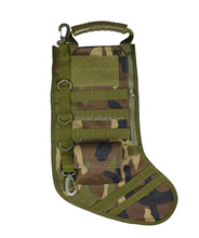 Tactical Pouch Molle Christmas Stocking Bag Design Military Ammo Bullet EDC Pouch Dump Drop Magazine Storage Bag