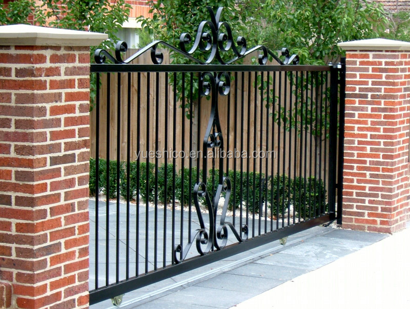 wrought iron sliding grill gate design, Wrought Iron Gates Bayswater Melbourne Warp Iron works.