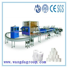 Quanzhou Machinery Full Automatic Top Quality Small Tissue Toilet Paper Production Line