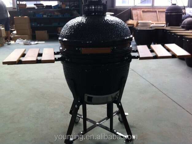 New - Outdoor kitchen 18 inch kamado ceramic grill