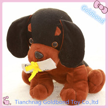 Custom Cute Plush Graduation Gifts Toy Soft Stuffed Animal Dog Toy