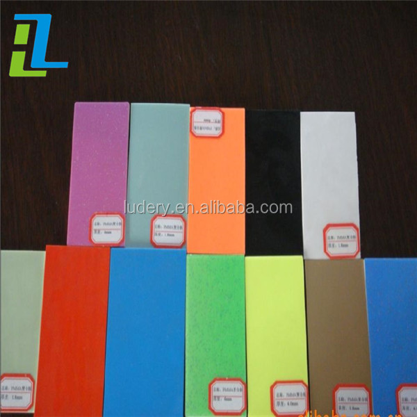 Engraving acrylic sheet/gloss abs acrylic board/laser engraving abs double color plate
