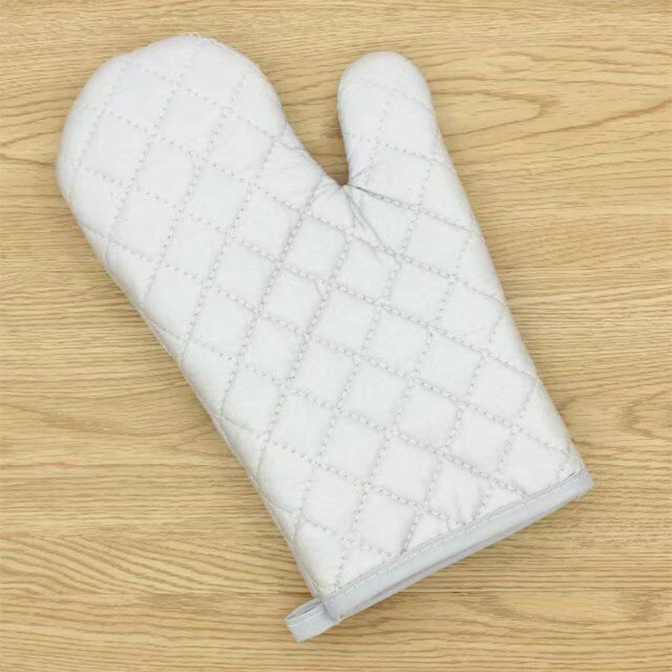 Manufacturer Kitchen Cooking Oven Gloves Heat Resistant Oven Gloves Promotional With Logo