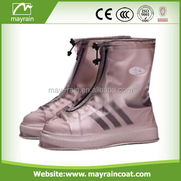 2017 New product adult waterproof rain boot/shoe covers for rain
