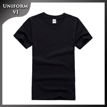 basic custom logo t shirt muscle fit t-shirt wholesale 100% cotton soft and promotional t-shirt manufacture