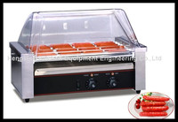 Electric Rolling Hot Dog Grill Stainless Steel Hot-dog Grill (5 rollers), hot dog grill machine