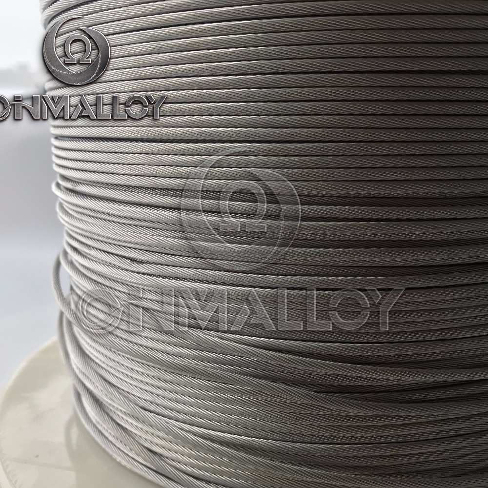 NiCr 80/20 Nichrome <strong>Alloy</strong> 19 mulit NiCr 2080 0.35*19 heating stranded wire