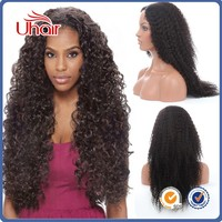 Peruvian front lace wigs human natural hair black man wigs curly afro wigs for black women