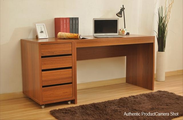 hot sale particle board household wooden study table computer desk