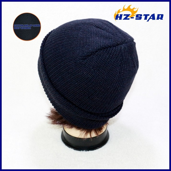 HZM-12222013 Wholesale Beanie Kintted Custom 100% Cotton Spider Man