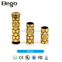 2014 New Ecig Adjustable Mechanical Mod 18650 18500 18350 Battery Honour Mod