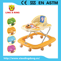 new baby Walker with dog face with big strong european base walker for baby baby stroller