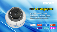 p2p monitoring mobile ip dummy dome camera 720p with 3.6mm lens