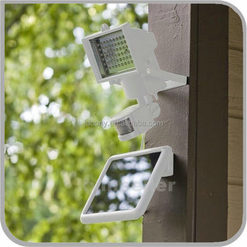 2016 NEW 60 80 LED Aluminum Solar LED motion sensor light (JL-3501)