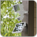 Smart Mode 60 80 LED Aluminum Wall Mounted Solar Energy Saving LED motion sensor light lamp for Driveway Courtyard Entrance