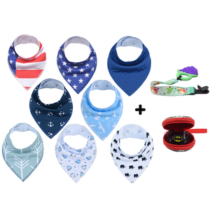 Drooling and Teething Gift Set For Girls Jewel Set baby bandana drool bibs