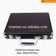 Stone Sample display suitcase -PX066