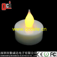 flameless tea light candle