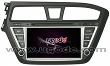 touch screen android system CAR Stereo DVD For Hyundai I20 CARS with GPS/3G/WIFI/BT/IPOD/V-20 disc CDC/PHONE BOOK PLAYER/TV