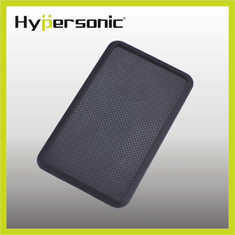 Hypersonic HP2714 car travel non-slip silicone rubber tray mat