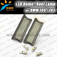 New high quality led dome light 5050SMD super hot car interior dome light for BMW E60 E65 with 1 year warranty