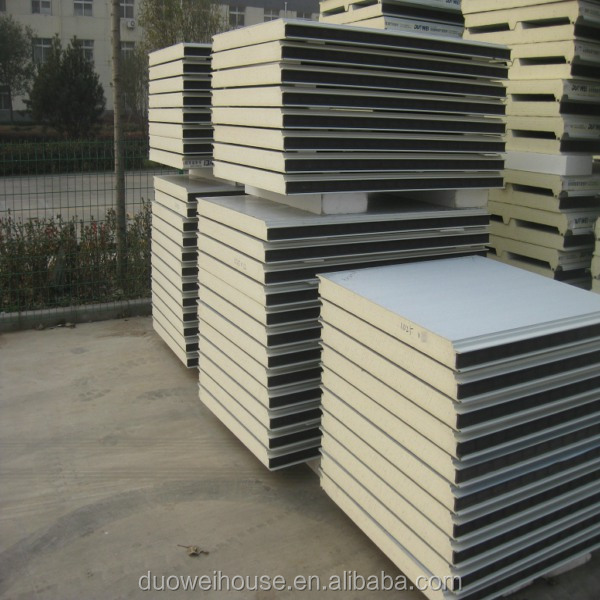 PU Sandwich Panel With Cam Lock