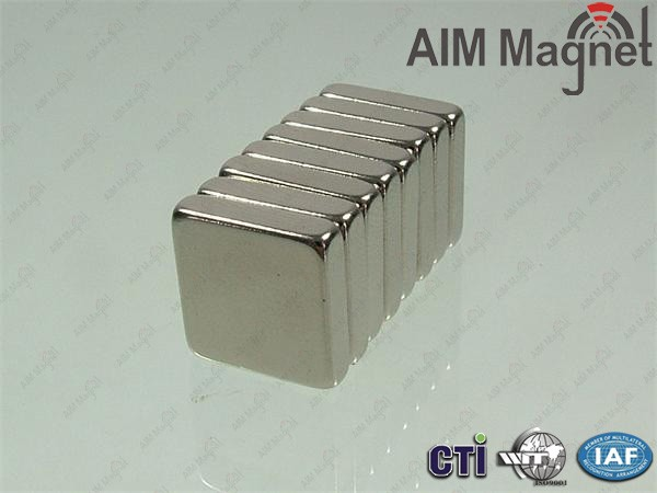 Neodymium magnet rectangle