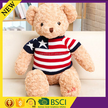 Christmas gift children lovely doll toy clothes cute crochet knitted bear clothes