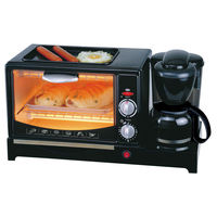 Automatic Bread Maker Machine For Home Breakfast With Coffee Machine