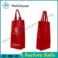 Eco-friendly new style cheap non woven wine bag small