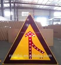 Factory Wholesale Cheap Led Road Safety Boards Traffic Road Sign