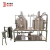 Micro beer brewing equipment 100l for hotel