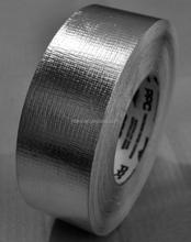 Heavy Duty Silver Cloth Glass fiber Insulation Reinforced Aluminium Foil Tape