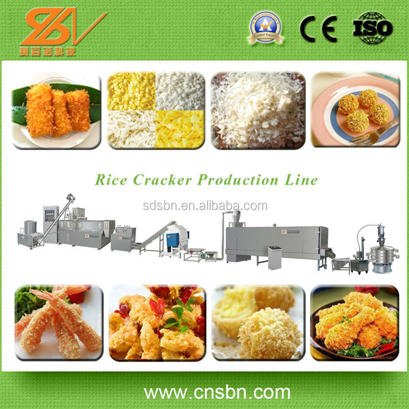 With CE SGS BV Certificate Extruder Making Equipment/Bread Crumb Production Machine Cooling Tower
